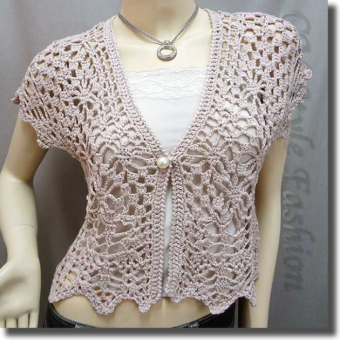 Crochet Bolero Pattern : Pics Photos - Crochet Shrug Bolero Pattern Club